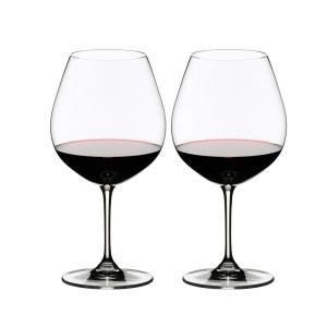 リーデル ヴィノム ピノ・ノワール(ブルゴーニュ) ワイングラス 700cc 6416/7 2脚セット 703 senssyo