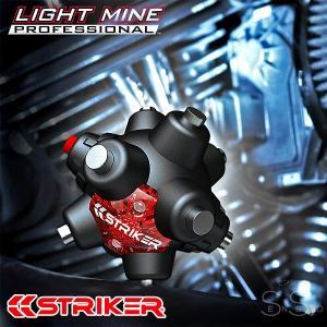 STRIKER 強力ネオジム磁石ハンズフリーライト マインプロフェッショナルLED 9cm 64ルーメン 連続24時間点灯 単4乾電池3本|senssyo