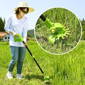 草刈機 軽る刈った2 電動コードレス 軽いカルカッタ VS-GE04 1.2kg 充電式|senssyo