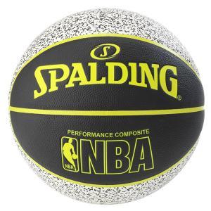 SPALDING バスケットボール7号 コンポジット スタティック 合成皮革 スポルディング76-154Z|senssyo