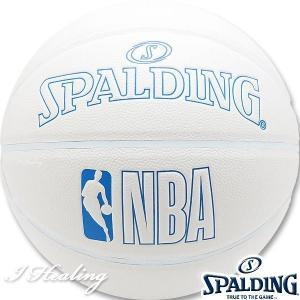 SPALDING INNOCENCE バスケットボール7号 イノセンス ホワイト 合成皮革 スポルディング76-270J|senssyo
