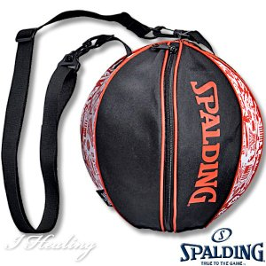 SPALDING バスケ用ボールバッグ グラフィティ オレンジ バスケットボール収納 GRAFFITI ORANGE スポルディング49-001GF|senssyo