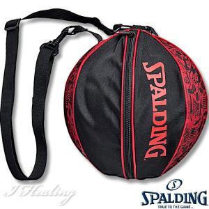SPALDING バスケ用ボールバッグ グラフィティ レッド バスケットボール収納 GRAFFITI RED スポルディング49-001GR|senssyo