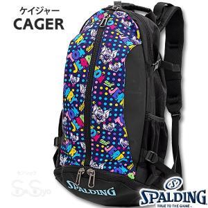 SPALDING ケイジャー トムとジェリー ドット バスケットボール バッグ バックパック リュック スポルディング CAGER 40-007TJ|senssyo