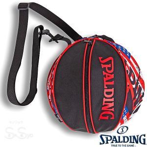 SPALDING バスケットボール ボールバッグ スターズ アンド ストライプス STARS&STRIPES スポルディング 49-001SS|senssyo
