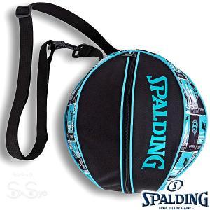 SPALDING バスケットボール ボールバッグ スーパーマン ターコイズ SUPERMAN TURQUOISE スポルディング 49-001SMT|senssyo