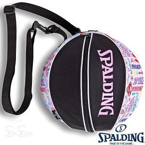 SPALDING バスケットボール 女性用ボールバッグ スーパーガール SUPERGIRL スポルディング 49-001SG senssyo