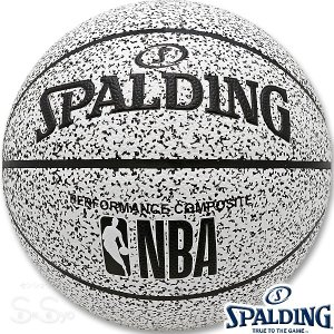 SPALDING NOISE バスケットボール7号 ノイズ 合成皮革 スポルディング76-343J|senssyo