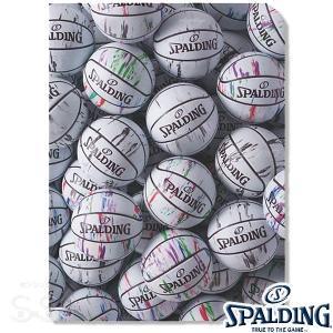 SPALDING クリアファイルA4 2枚入り マーブルホワイト バスケットボール グッズ スポルディング15-007WM|senssyo