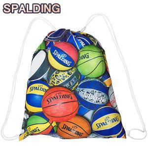 SPALDING ナップサック マルチボール 33L スポーツ ジムサック バスケ バッグ スポルディング SAK002MLB MULTI BALL|senssyo