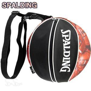 SPALDING バスケットボール ボールバッグ マーブルレッド MARBLE RED スポルディング 49-001MRD|senssyo
