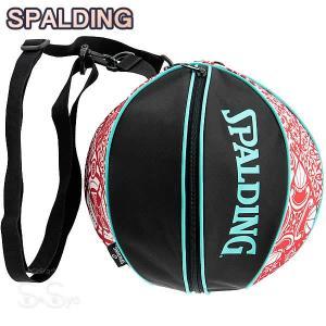 SPALDING バスケットボール ボールバッグ スカンジナビアンレッド SCANDINAVIAN RED スポルディング 49-001SRD|senssyo