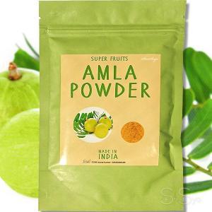 食品認可 IPMアムラパウダー 100g ビタミンC ポリフェノール豊富 スーパーフルーツ 乾燥アムラ粉末 インド産 senssyo