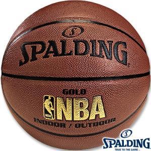 スポルディング バスケットボール7号ゴールド 合成皮革 SPALDING74-559Z|senssyo