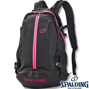 SPALDING ケイジャー ピンク 40-007 バスケットボール バッグ スポーツ バスケ用バックパック リュック スポルディング CAGER 40-007PK|senssyo