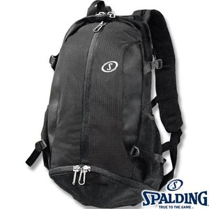 SPALDING ケイジャー ブラック チーム 40-007 バスケットボール バッグ スポーツ バスケ用バックパック リュック スポルディング CAGER 40-007SV02|senssyo