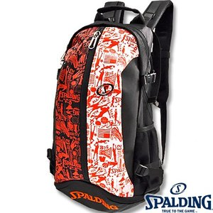 SPALDING ケイジャー グラフィティ  40-007 バスケットボール バッグ スポーツ バスケ用バックパック リュック スポルディング CAGER 40-007GF|senssyo