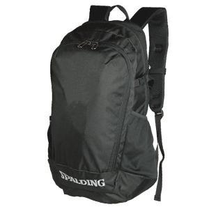 SPALDINGバスケットボール クルーバッグ ブラック 部活用バックパック スポルディング40-014BK|senssyo
