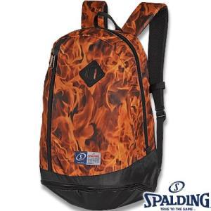 スポルディング ライズ フレーム オレンジ バスケットボールバッグ SPALDING40-013OR|senssyo
