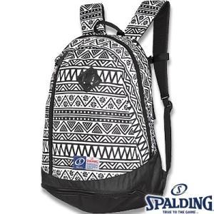 スポルディング ライズ トライバル柄 バスケットボールバッグ SPALDING40-013TB|senssyo