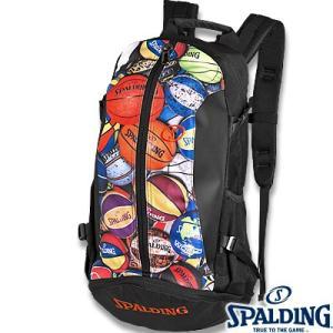 SPALDING ケイジャー マルチボール 40-007 バスケットボール バッグ スポーツ バスケ用バックパック リュック スポルディング CAGER 40-007MLB|senssyo