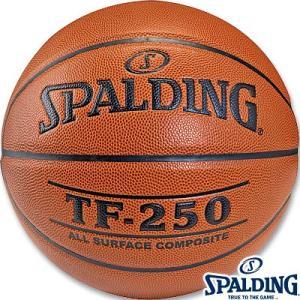 スポルディング バスケットボール6号 TF-250ブラウン 合成皮革 SPALDING76-128J|senssyo