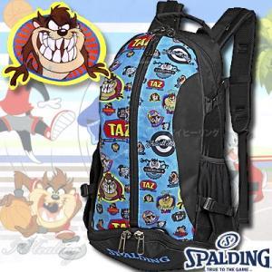 SPALDING ケイジャー タズ ルーニーテューンズ ブルー 40-007TAZ バスケットボール バッグ スポーツ バスケ用バックパック リュック スポルディング CAGER|senssyo