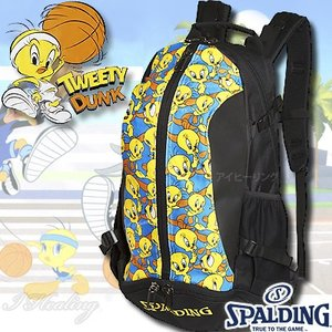 SPALDING ケイジャー トゥイーティー ルーニーテューンズ 40-007TW バスケットボール バッグ スポーツ バスケ用バックパック リュック スポルディング CAGER|senssyo