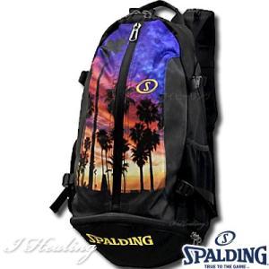 SPALDING ケイジャー ロサンゼルス LOS ANGELES 40-007 バスケットボール バッグ スポーツ バスケ用バックパック リュック スポルディング CAGER 40-007LA|senssyo