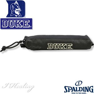 ペンケースDUKE バスケットボール スポルディング デューク ブラック SPALDING41-012DKK|senssyo