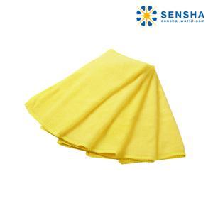 洗車拭き取り簡単クロス マイクロファイバー超極細繊維クロス ベーシッククロスLサイズ 5枚組|sensya
