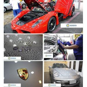 ガラス系コーティング剤  ファインクリスタル カーシャンプー ボディークリン 洗車用 スポンジ お試し 送料無料 割引券利用対象外商品|sensya|10