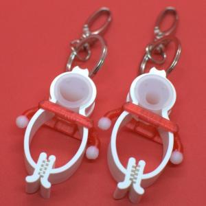 TLTLハンカチクリップ 2個セット(クリスマス仕様 白手袋 RED)|sentakuclip