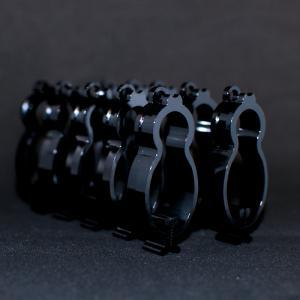 洗濯クリップ 黒 (山形歯)10個set 吊り下げ具別売 sentakuclip