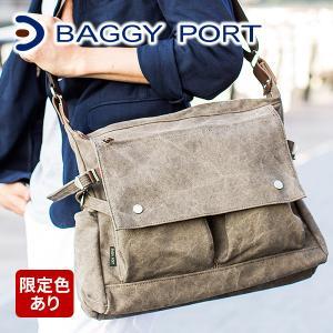 バギーポート 帆布バッグ BAGGY PORT ショルダーバック メンズ BAGGY PORT KON2002 人気|sentire-one