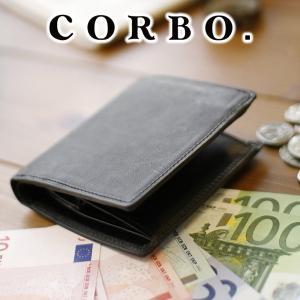 コルボ 財布 メンズ 二つ折り 人気 ブランド ボックス型 財布 1LC-0202|sentire-one