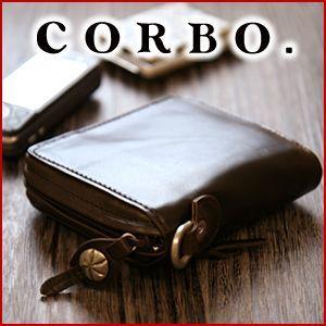 コルボ 財布 メンズ 二つ折り 人気 ブランド 財布  ラウンドジップ牛革 札入れ 8JF-9974|sentire-one