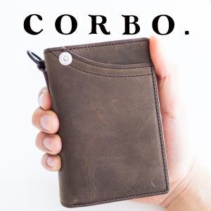 CORBO. コルボ -CLAY Works Horse- クレイワークスホース 小銭入れ付き二つ折...