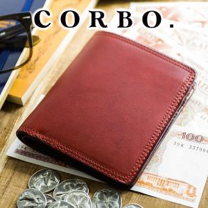 コルボ 財布 メンズ 二つ折り 人気 ブランド 薄型 財布 8LC-0401|sentire-one