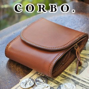 【ポイント10倍】コルボ 財布 メンズ 三つ折り 人気 ブラ...