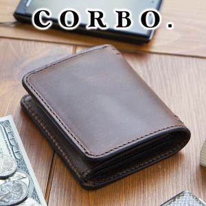 コルボ 財布 メンズ 二つ折り 人気 ブランド 財布 8LF-9422|sentire-one
