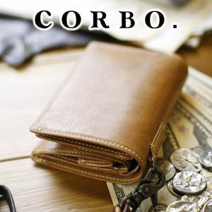 【ポイント10倍】コルボ 財布 CORBO 二つ折り財布 メ...