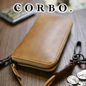 コルボ 財布 ラウンドジップ CORBO 小銭入れ付き長財布 メンズ CORBO. 8LO-9934 人気|sentire-one