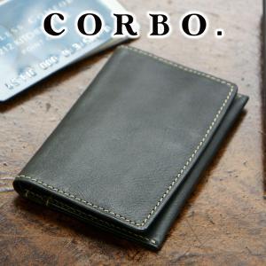 【ポイント10倍】CORBO コルボ 名刺カードケース カード・ケース メンズ 8LO-9940 人気|sentire-one