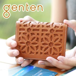 genten ゲンテン cut work カットワーク パスケース 40602(31623) 人気 sentire-one