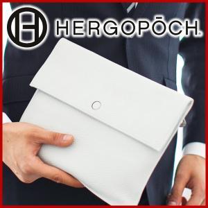 [2017年4月6日販売開始!]HERGOPOCH エルゴポック Kingly Series キングリーシリーズ カモフラージュエンボスレザー エンベロープバッグ(小) KGC-ENV-S|sentire-one