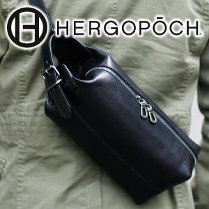 【ポイント15倍】HERGOPOCH エルゴポック Merge Series マージシリーズ バスクドレザー クラッチショルダーバッグ(クラッチバッグ ボディバッグ) MG-SSR|sentire-one