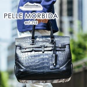 【ポイント15倍】[受注生産商品] PELLE MORBIDA ペッレモルビダ Cocodrillo コッコドリーロ 2WAYボストンバッグ PMO-CR018 人気