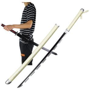 鬼滅の刃 嘴平 伊之助(はしびら いのすけ)日輪刀 ベルト付けセット コスプレ道具 木製刀  コスチューム