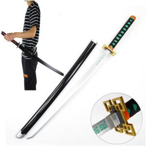 鬼滅の刃 霞柱 時透 無一郎(ときとう むいちろう) 日輪刀 ベルト付けセット コスプレ道具 木製刀  コスチューム